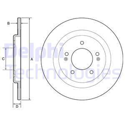 delphi-fren-diski-boyali-arka-hyundai-i40-284mm-2011-bg4563c