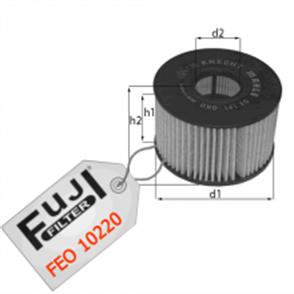FUJI fuji yag filtresi renault trafic ii 25 dci 2001 master ii 22 dci25 dci 2000 30 dci 2005 feo10220