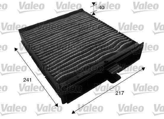 VALEO valeo polen filtresi karbonlu renault scenic ii 1415 dci1616 16v19 dci2020 16v20 dci 2003 715610