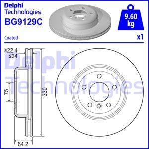 DELPHI  on fren diski bg9129c